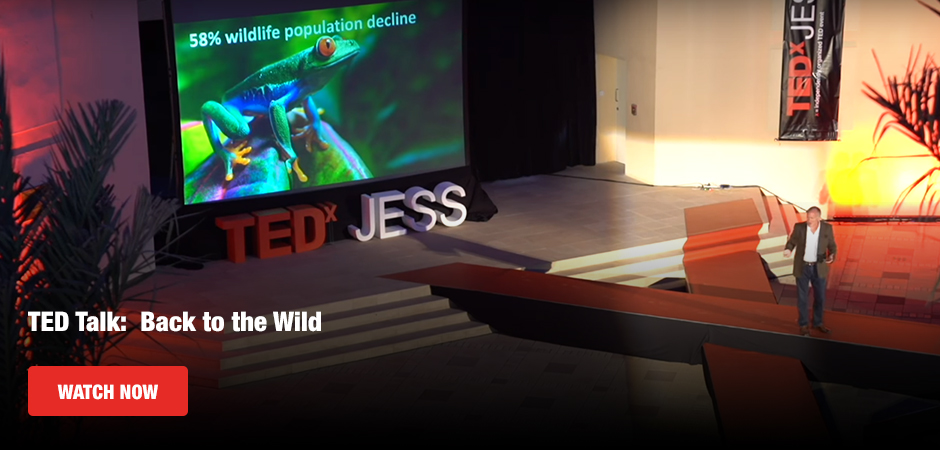 TED Talk:  Back to the Wild