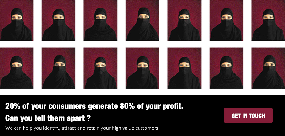 20% of your consumers generate 80% of your profit.  Can you tell them apart ?