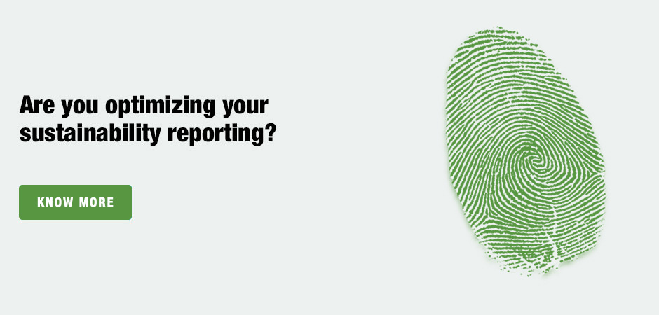 Are you optimizing your sustainability reporting?